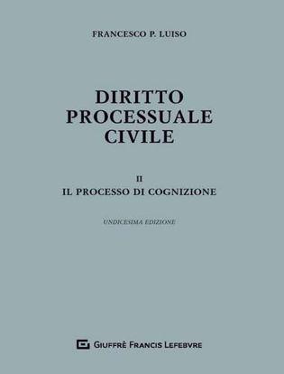 Immagine di Diritto processuale civile. 2 Il processo di cognizione