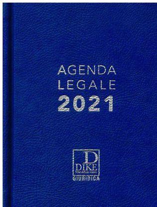 Immagine di Agenda legale d'udienza 2021. Ediz. blu