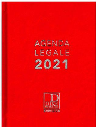 Immagine di Agenda legale d'udienza 2021. Ediz. rossa