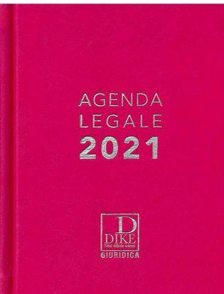Immagine di Agenda legale d'udienza 2021. Ediz. fucsia