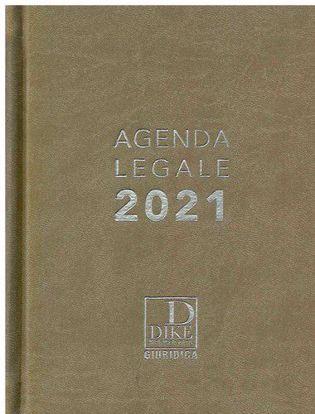 Immagine di Agenda legale d'udienza 2021. Ediz. tortora