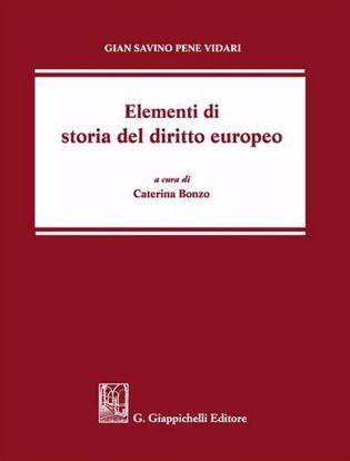 Immagine di Elementi di storia del diritto europeo