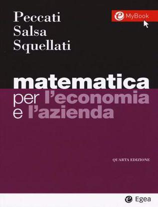Immagine di Matematica per l'economia e l'azienda. Con Contenuto digitale per accesso on line