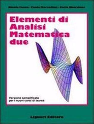 Immagine di Elementi di analisi matematica 2. Versione semplificata per i nuovi corsi di laurea