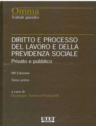 Immagine di Diritto e processo del lavoro e della previdenza sociale. Il lavoro privato e pubblico. 2 tomi