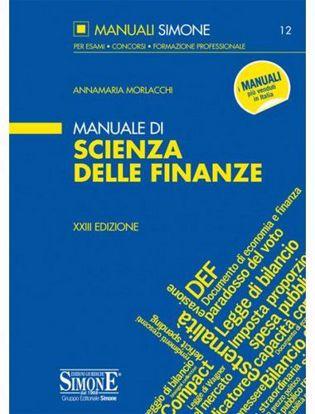 Immagine di Manuale di scienze delle finanze. N. 12