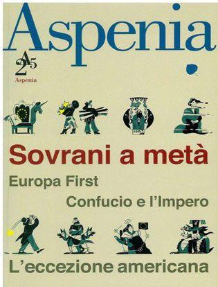 Immagine di Aspenia (2019) vol.90 Sovrani a metà