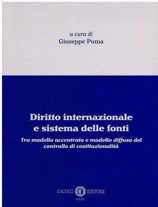 Immagine di Diritto internazionale e sistema delle fonti