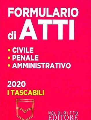 Immagine di Formulario di atti Civile - Penale - Amministrativo 2020 In Tasca