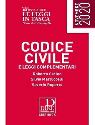 Immagine di Codice civile e leggi complementari. Le leggi in tasca 2020