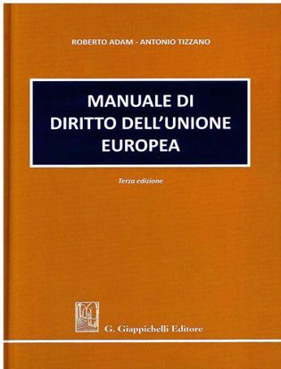 Immagine di Manuale di diritto dell'Unione Europea