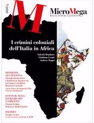 Immagine di Micromega (2020) vol.7 I crimini coloniali dell'Italia in Africa