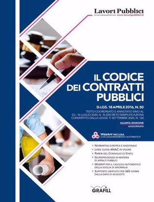 Immagine di Il codice dei contratti pubblici