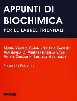 Immagine di Appunti di biochimica per le lauree triennali