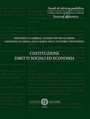 Immagine di 4 - Costituzione diritti sociali ed economia