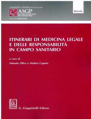 Immagine di Itinerari di medicina legale e delle responsabilità in campo sanitario