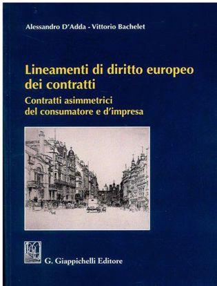 Immagine di Lineamenti di diritto europeo dei contratti. Contratti asimmetrici del consumatore e d'impresa