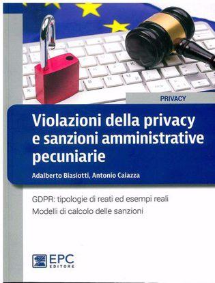 Immagine di Violazioni della privacy e sanzioni amministrative pecuniarie. GDPR: tipologie di reati ed esempi reali. Modelli di calcolo delle sanzioni