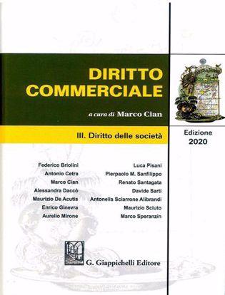 Immagine di Diritto commerciale vol.3. Diritto delle società