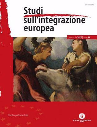 Immagine di Studi sull'integrazione europea. Anno XV n. 3