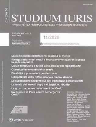 Immagine di Studium Iuris 11/2020
