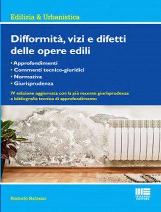 Immagine di Difformità, vizi e difetti delle opere edili