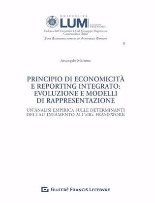 Immagine di Principio di economicità e reporting integrato: evoluzione e modelli di rappresentazione. Un'analisi empirica sulle determinanti dell'allineamento all'IR Framework