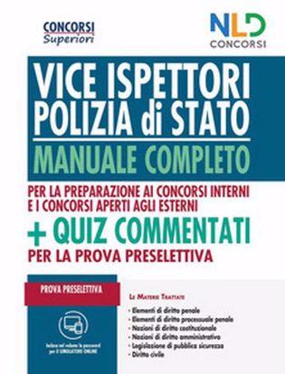 Immagine di Concorso Vice Ispettori Polizia di Stato 2020: Manuale completo per la prova preselettiva. Con Contenuto digitale per accesso on line