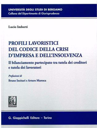 Immagine di Profili lavoristici del Codice della crisi d'impresa e dell'insolvenza. Il bilanciamento partecipato tra tutela dei creditori e tutela dei lavoratori