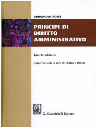 Immagine di Principi di diritto amministrativo