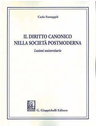 Immagine di Il diritto canonico nella società postmoderna