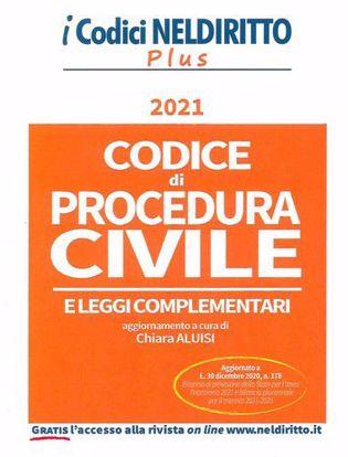 Immagine di Codice di Procedura Civile Plus Gennaio 2021