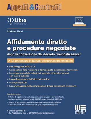 """Immagine di Affidamento diretto e procedure negoziate dopo la conversione del decreto """"semplificazioni"""""""