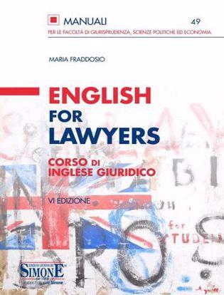 Immagine di English for lawyers. Corso di inglese giuridico