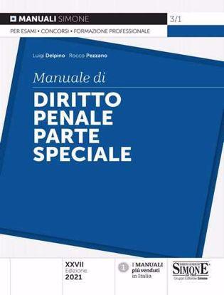 Immagine di Manuale di diritto penale. Parte speciale