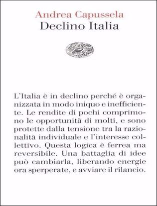 Immagine di Declino Italia