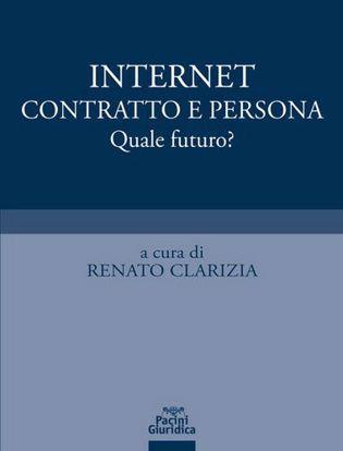 Immagine di Internet contratto e persona. Quale futuro?