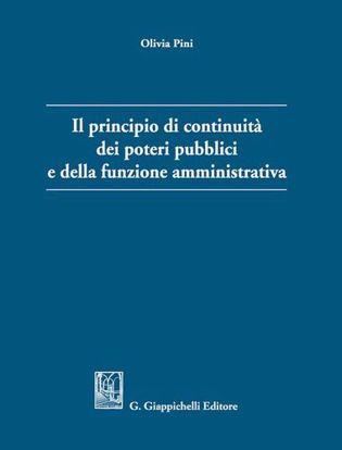 Immagine di Il principio di continuità dei poteri pubblici e della funzione amministrativa