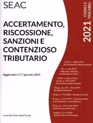 Immagine di Accertamento, Riscossione, Sanzioni e Contenzioso Tributario
