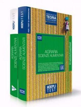 Immagine di Hoepli Test. Agraria. Scienze dell'alimentazione. Box: manuale di teoria con esempi- Esercizi e simulazioni. Per i test di ammissione