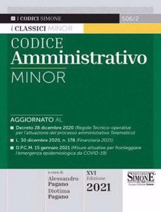 Immagine di Codice Amministrativo Minor. Ed. Gennaio 2021