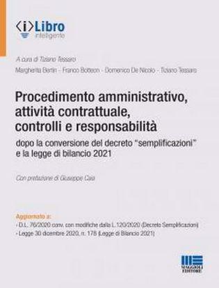 Immagine di Procedimento amministrativo, attività contrattuale, controlli e responsabilità dopo la conversione del decreto «semplificazioni» e la legge di bilancio 2021