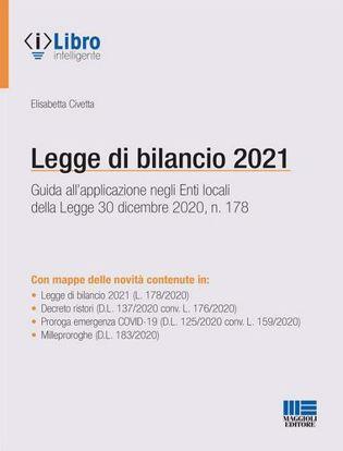Immagine di Legge di bilancio 2021