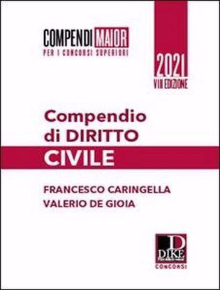 Immagine di Compendio di diritto civile 2021 - Maior