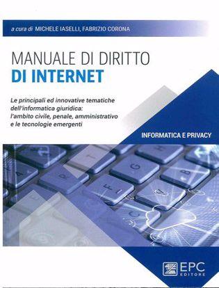 Immagine di Manuale di diritto di internet. Le principali ed innovative tematiche dell'informatica giuridica: l'ambito civile, penale, amministrativo e le tecnologie emergenti