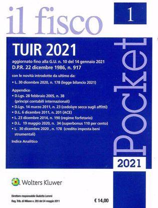 Immagine di TUIR 2021 - Pocket il fisco