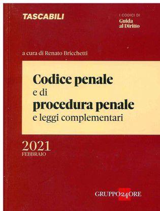 Immagine di Codice penale e di procedura penale e leggi complementari. Febbraio 2021