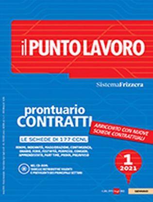 Immagine di Il punto lavoro (2021) vol.1. Prontuario Contratti con CD Rom