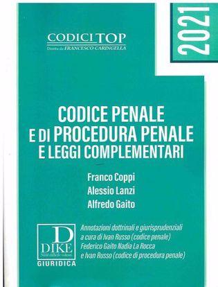 Immagine di Codice Penale e di Procedura Penale e leggi Comoplementari Gennaio 2021 -Top