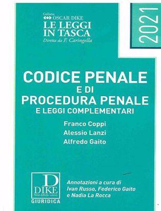 Immagine di Codice Penale di Procedura Penale e leggi Complementari Gennaio 2021 - pocket